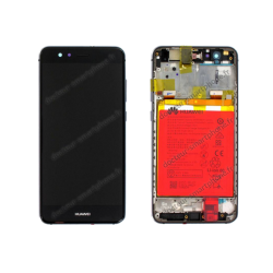 Ecran complet LCd et vitre Huawei P10 LITE noir original WAS-L01A