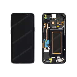 Écran complet Samsung Galaxy S9 noir original SM-G960F