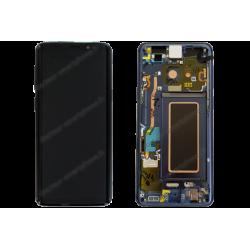 Écran complet Samsung Galaxy S9 bleu d'origine G960F