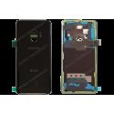 Vitre arrière Samsung Galaxy S9 DUOS noir d'origine G960F