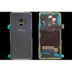 Vitre arrière pour Samsung Galaxy S9 bleu original G960F