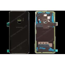 Vitre arrière Samsung Galaxy S9 noir d'origine G960F