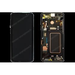 Écran amoled Samsung Galaxy S9 PLUS noir d'origine SM-G965F