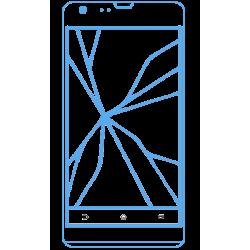 Changement écran cassé wiko CINK PEAX