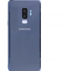 Vitre arrière Samsung Galaxy S9 Plus bleu original G965F