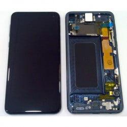 Écran complet Samsung Galaxy S10e noir original SM-G970F