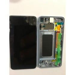 Écran complet Samsung Galaxy S10e bleu original SM-G970F
