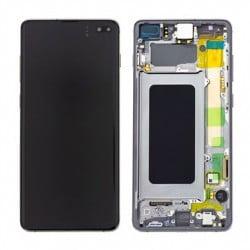 Écran complet Samsung Galaxy S10 plus noir prisme original SM-G975F