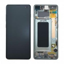 Écran complet Samsung Galaxy S10 plus vert original SM-G975F