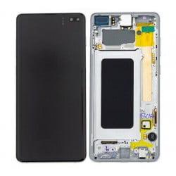 Écran complet Samsung Galaxy S10 plus Céramique Blanc original SM-G975F