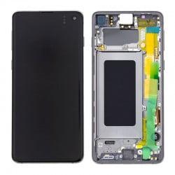 Écran complet Samsung Galaxy S10 noir prisme original SM-G973F