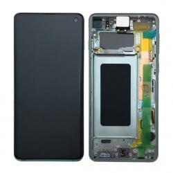 Écran complet Samsung Galaxy S10 vert original SM-G973F