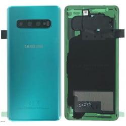 Vitre arrière Samsung S10 vert prisme d'origine