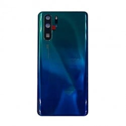 Vitre arrière Huawei P30 Pro Aurora Bleu