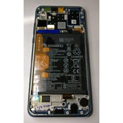 Bloc écran Huawei P30 Bleu d'origine
