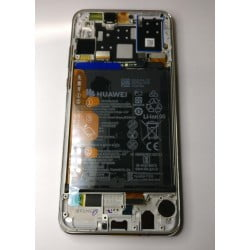 Bloc écran Huawei P30 Lite Blanc d'origine