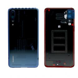 Coque arrière pour Huawei P20 pro Midnight Blue (Bleu) d'origine (CLT-L09)