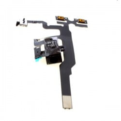 NAPPE PRISE JACK + VIBREUR + VOLUME IPHONE 4 DE QUALITE ORIGINALE