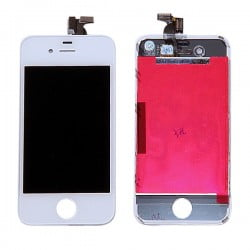 ECRAN LCD BLANC IPHONE 4G DE QUALITE ORIGINALE