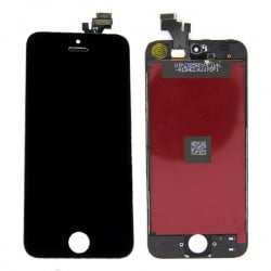ECRAN IPHONE 5G NOIR LCD + VITRE TACTILE DE QUALITE ORIGINALE