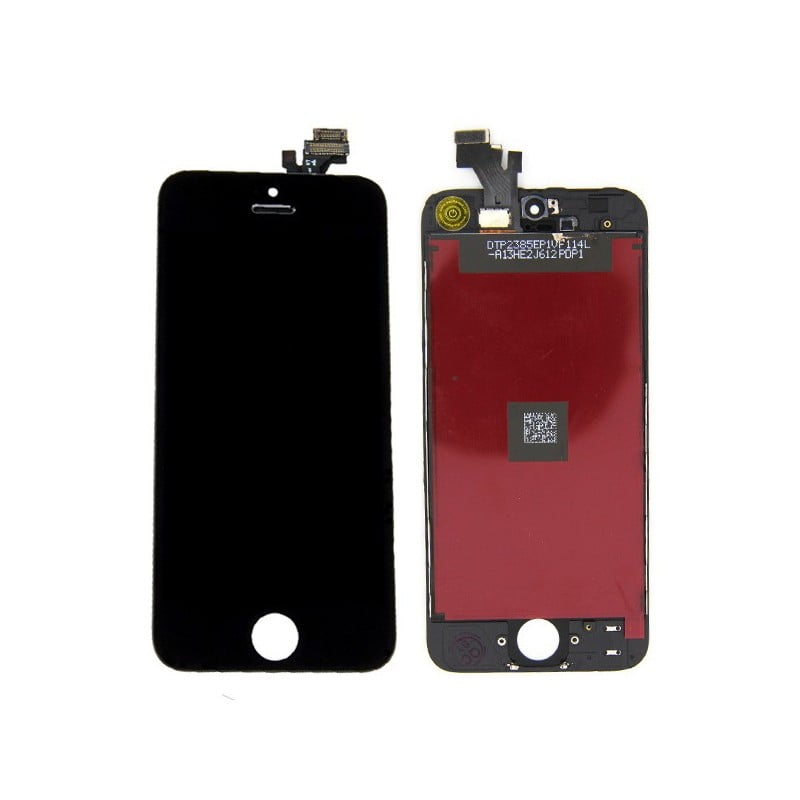 Cran pour iphone 5 noir lcd vitre tactile for Ecran photo noir iphone 5