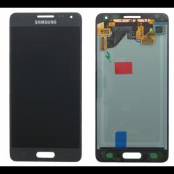 ECRAN LCD + VITRE TACTILE SAMSUNG GALAXY ALPHA G850F D'ORIGINE NOIR