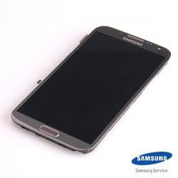 ECRAN LCD + VITRE TACTILE SAMSUNG GALAXY NOTE 2 N7100 D'ORIGINE NOIR