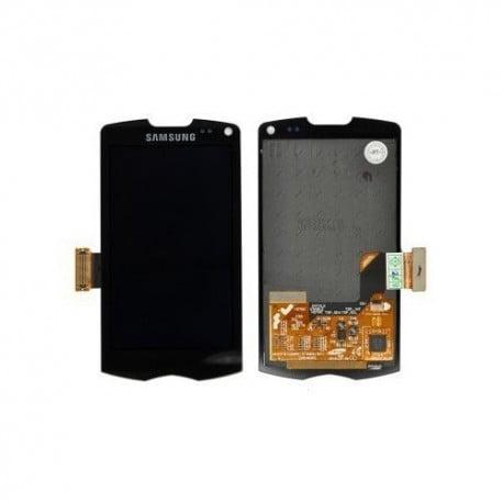 ECRAN LCD + VITRE TACTILE SAMSUNG GALAXY WAVE 2 S8530 NOIRE D'ORIGINE
