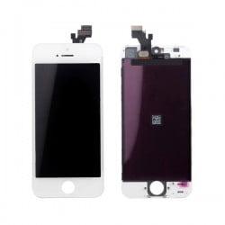 Écran LCD + vitre tectile iPhone 5S blanc