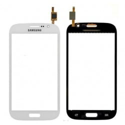 VITRE TACTILE SAMSUNG GALAXY GRAND I9082 BLANC D'ORIGINE